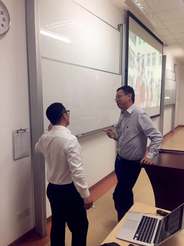 书享界邓斌给太平养老广东公司讲授《华为管理之道》