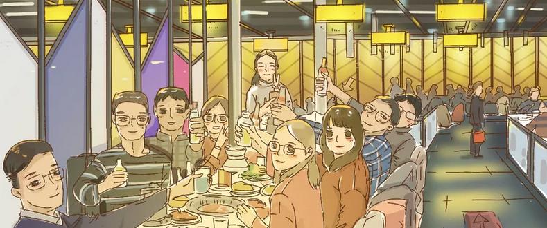稻盛和夫:能喝酒吃饭,就不要开会