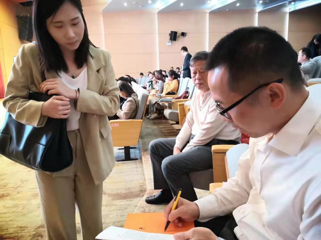 邓斌为顺德高新技术企业管理者讲授《华为管理之道》